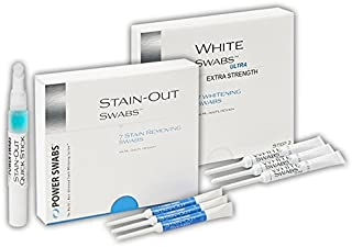 Power Swabs 7-Day Ultra White Kit with Free Quick Stick Pen