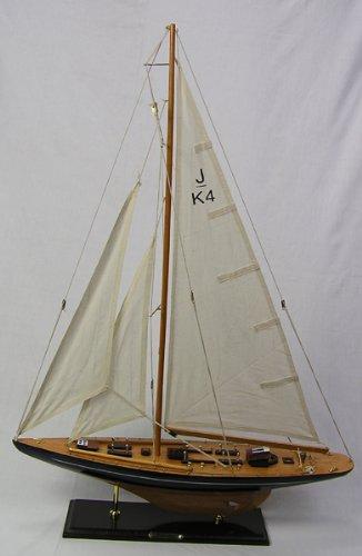 Yachtmodell Endeavour Segelschiffmodell Dekoyacht Modellschiff Schiffsmodell