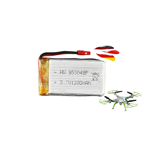 HSP Himoto Batería original para cuadricóptero Syma X5HC, X5HW (1200 mAh, 3,7 V)