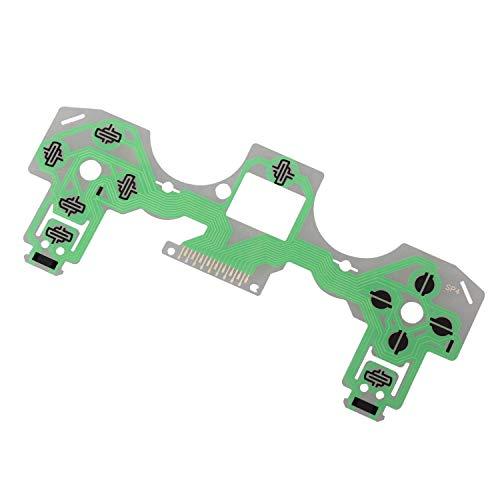 eJiasu PS4 Ersatzteile, Ersatz Tastatur Reparatur Teile Flexible Shake Membran Controller Leitfähige Folie für Sony PS4 Playstation 4 (2pcs)
