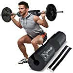 Barbell Pad Squat Pad for Lunges and Squats – Hip Thrust Pad for Standard and Olympic Bars – Provides Cushion to Neck and Shoulders While Training