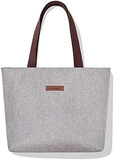 Simple Handbag Girl's New Retro Single Shoulder Bag Student Large Capacity Shopping Bag