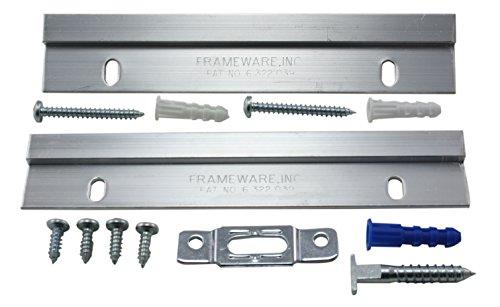 Frameware PBW3 - Frameware Frameloc System for Wood Frames - Pack of 10 w/Free Wrench