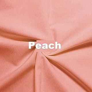 Wonderful Ponte DE Roma Jersey Knit Spandex Fabric by The Yard APPARELDRESS 2 Way Stretch (Peace)