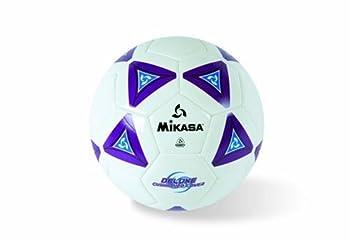 Mikasa SS40-P Serious Soccer Ball  Purple/White Size 4