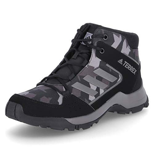 Adidas Terrex Hyperhiker K, Zapatillas Deportivas trecking, Core Black Night Grey Core Black, 33.5 EU