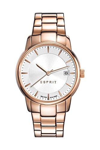 Esprit ES-Victoria - Reloj de Pulsera para Mujeres, Color Dorado