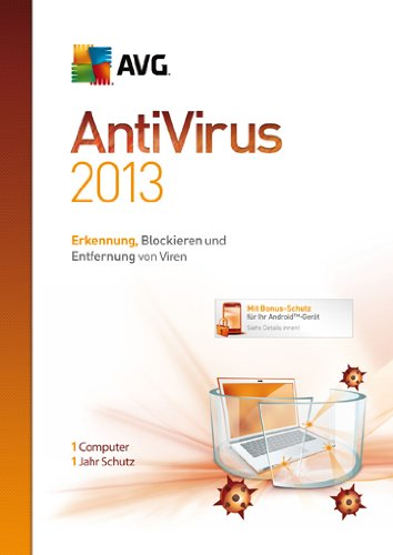 AVG AntiVirus 2013 1-Platz [import allemand]