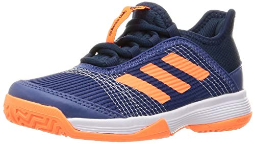 adidas Adizero Club K Tennisschuhe, Unisex, Kinder, 49,3 EU, Mehrfarbig - Mehrfarbig (Azutri Narchi Azmatr) - Größe: 31.5 EU