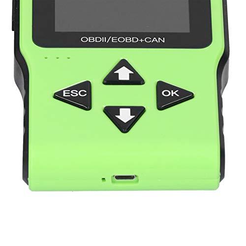 Escáner de diagnóstico para automóvil, Alcance de Uso del Control de fallas del automóvil de la exhibición de HD para la detección de fallas del vehículo