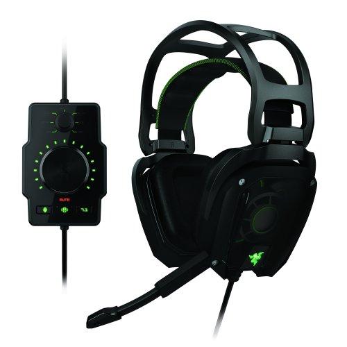 Razer Tiamat 7.1conexión analógica Real 7.1Surround Sound Gaming Auriculares