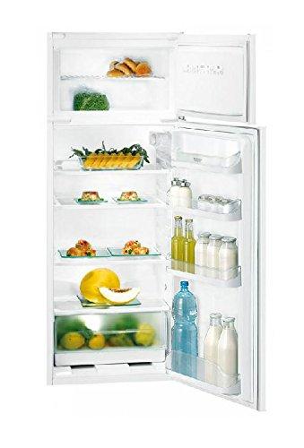 Hotpoint BD 2622/HA Einbau-Kühlschrank mit Gefrierfach, oben, 180 l, 42 l,A+, N-ST, 4*, Weiß