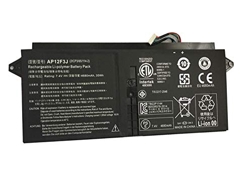 ASKC 7.4V 35Wh AP12F3J Batteria per Acer Aspire S7 Ultrabook S7-191-53314G12ass S7-391-53314G12aws S7-391-53314G25aws Aspire 13.3' S7-391 S7-392 S7-393 Laptop