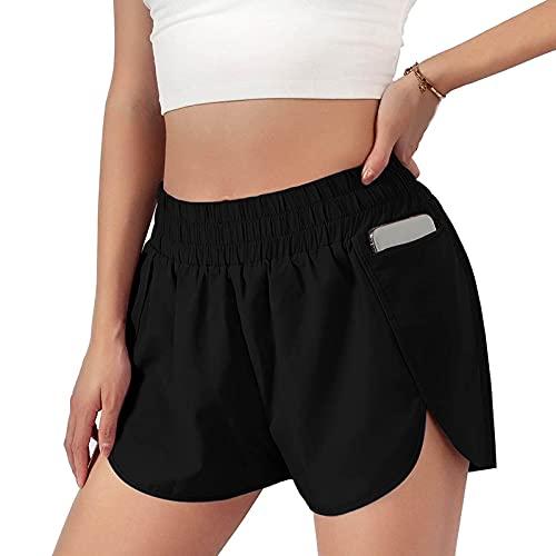 Pantalones cortos deportivos de verano para mujer, pantalones cortos casuales, yoga, danza y running