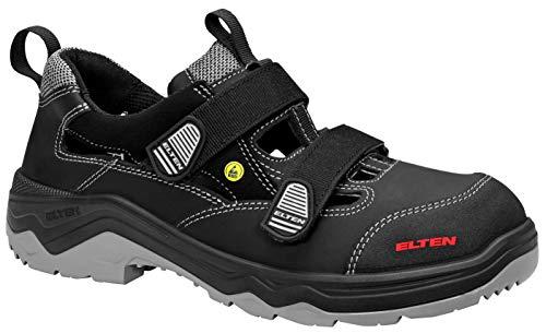ELTEN - Sicherheitssandale Laslo ESD S1p, Zapatos de Seguridad Unisex Adulto, Negro (Schwarz 1), 41 EU