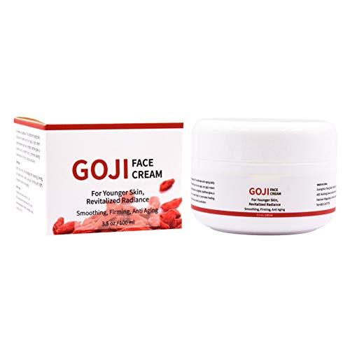 Crème pour le visage aux baies de Goji - Goji Cream - Formule hydratante hydratante et anti-âge, réduit l'apparence des rides, protège, hydrate et revitalise la peau