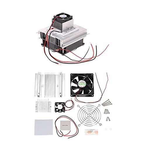 Fangfang Sistema di refrigerazione termoelettrica Sistema di Raffreddamento Kit semiconduttore Radiatore di conduzione Modulo radiatore Ventola di Raffreddamento TEC1-12706