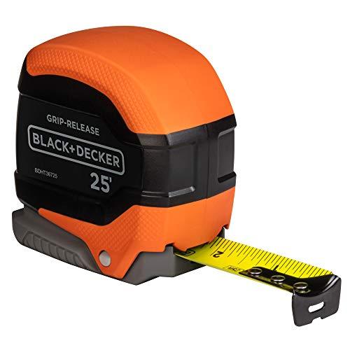 beyond by BLACK+DECKER Tape Measure, Grip Release, Autolock & Self Lock, 25-Foot (BDHT36725AP)