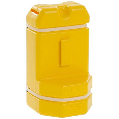 PHc Blade Bank, Disposable Razor Blade Container, Hi-Vis Yellow, BB00205