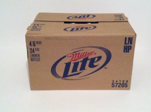 Miller Lite 12 oz. (355 mL can) - 24 Pack