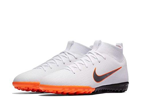 Nike Unisex-Kinder Mercurial SuperflyX VI Academy TF Fußballschuhe, Weiß (weiß weiß), 38.5 EU