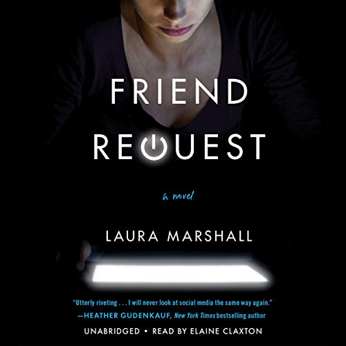 Friend Request audiobook cover art