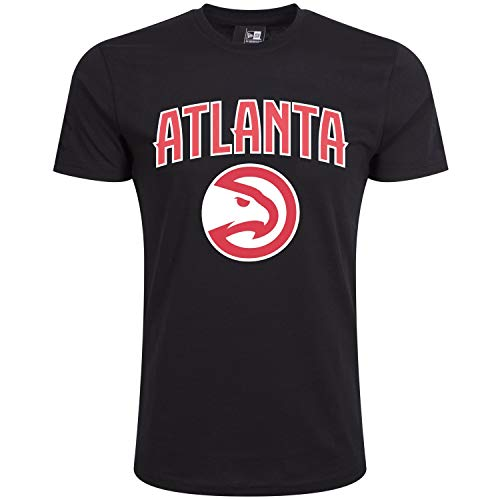 New Era Basic Shirt - NBA Atlanta Hawks Noir
