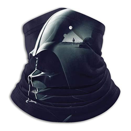 Grtswp Darth Vader Star Wars Halswärmer, Unisex, weich, winddicht, Stirnband für Sport, Wandern