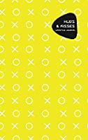 Hugs And Kisses Lifestyle Journal, (Xoxo Pattern Print), 6 x 9 Inches (A5), 144 Sheets (Yellow)
