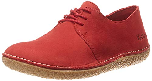 Kickers Damen Holster Derbys, Rot (Rouge 4), 37 EU