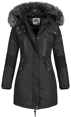 Geographical Norway Damen Jacke Winterparka Coracle/Coraly...
