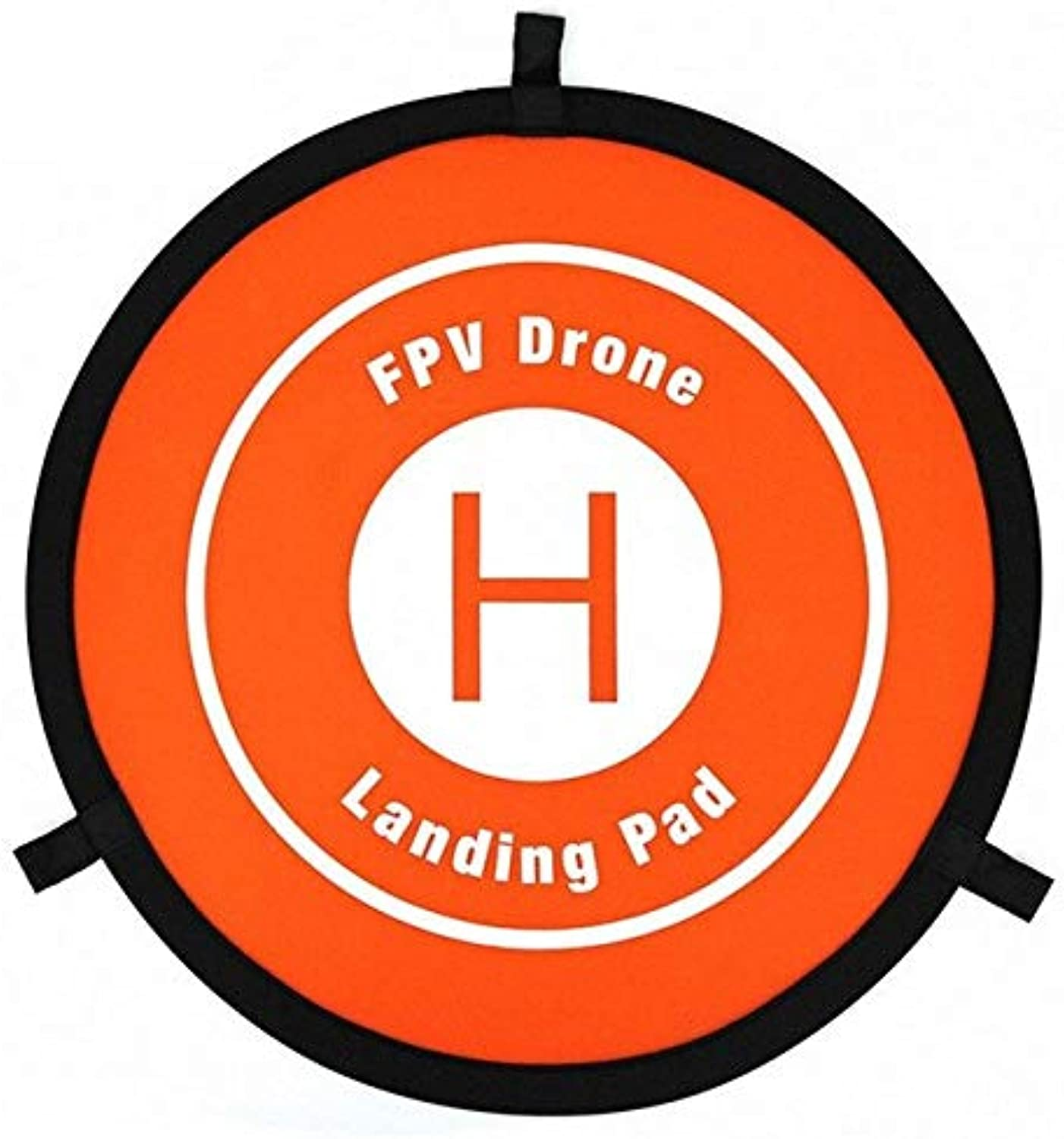 55cm Portable Parking Apron Drone General Coordinate Plate Landing Pad for X183 W198 Remote Controlled Aircraft Aerocraft   orange