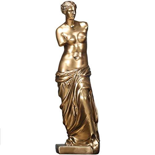 Afrodita Venus De Milo Diosa de la Belleza Estatua Adorno Femenino Desnudo Estatuilla Decoración Regalo Colección de Arte,A
