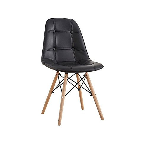 YDS SHOP GEWASISI massief houten stoel in restaurant, werkkamer bureaustoel kruk, volwassenen stoel met rugleuning Stijlvolle eenvoud dining stoel