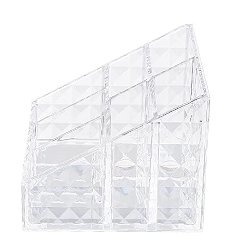 Trucco Organizzatore trasparente Mostra stoccaggio cosmetici Caso controsoffitto Compartimenti Box, Storage Box