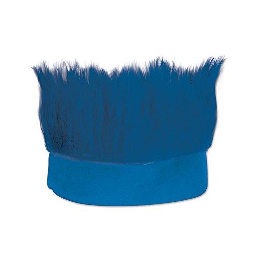 Beistle Blue Hairy Costume Headband-1 Pc
