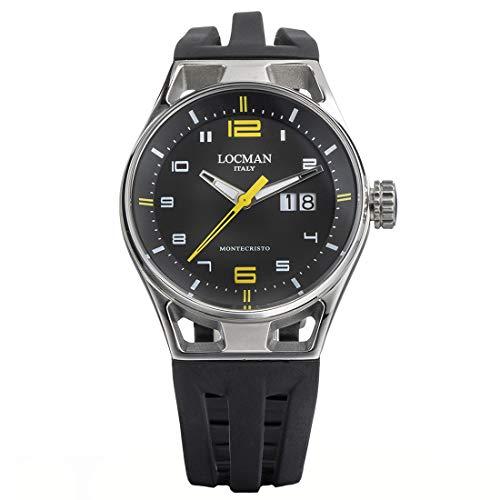 Locman Italy Montecristo 0546A - Reloj para hombre (41 mm)