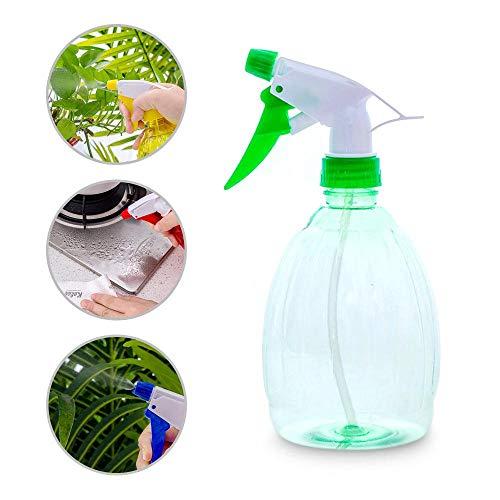 Volwco Lege Spray Fles, Plant Bloem Mist Watering Pot Spray Watering Kan Plastic Lege Vloeistof/Water Spray Flessen Ronde Spray Flessen Voor Het Schoonmaken van Watering De Bloemen Binnen
