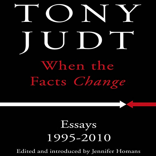 When the Facts Change audiobook cover art
