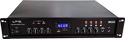 LTC PAA150BT - Amplificador de megafonía (de 4 zonas, 90 W)