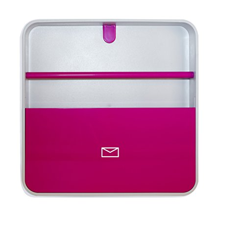 Paperflow MultiBox Mail Box, 12.6 x 12.6 x 2 Inches, Pink (MTBDH.17)