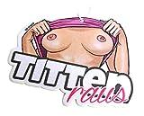 Titten Raus Sommer Edition Duftbaum Brüste FKK Porno Lufterfrischer Air Freshener - Dub (Duft: Fruity)