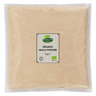 Organic Maca Powder 1kg by Hatton Hill Organic - Certified Organic by Hatton Hill Organic