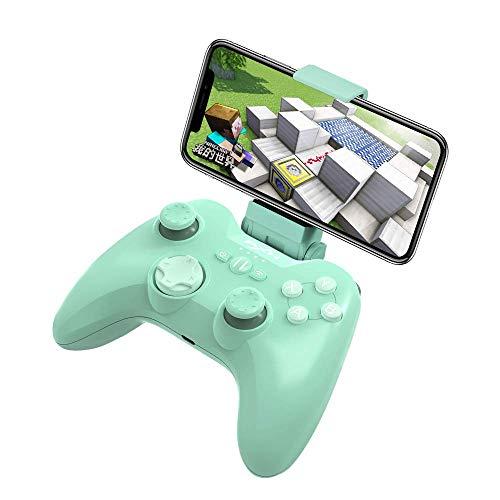 Mfi Game Controller für iPhone PXN Speedy(6603) iOS Gaming-Controller für Call of Duty Gamepad mit Handy-Clip für Ipad, iPhone (Grün)