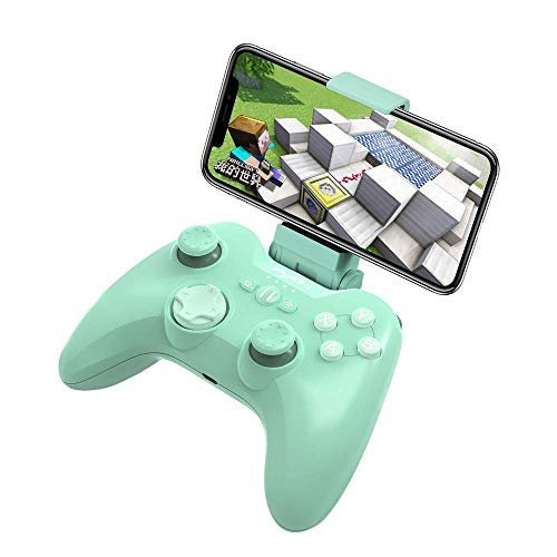 Mfi Game Controller für iPhone PXN Speedy(6603) iOS Gaming-Controller für Call of Duty Gamepad mit Handy-Clip für Ipad, iPhone (Grün)