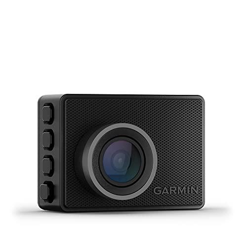"""Garmin Dash CAM 47 – Cámara Delantera para Coche con Pantalla de 2"""", 1080 píxeles y 140 Grados, Detector de incidentes y Modo vehículo aparcado, 2.1 MP"""