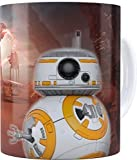 SERUNICOMOLA Taza Star Wars Funko. Regalo Original (BB-8)