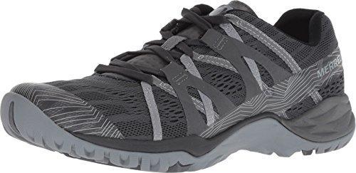 Merrell Women's Siren HEX Q2 E-MESH Sneaker, Granite, 8 M US