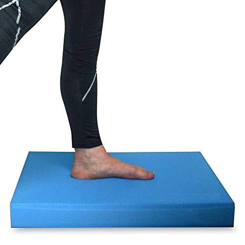 [EMSO] バランスパッド バランスマット リハビリ 高齢者 転倒予防 室内運動 バランス エクササイズ トレーニング SGS認証取得 大きいサイズ (ブルー, L)