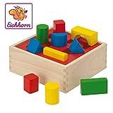 Eichhorn 100011702 - Steckbox mit 10 Steckelemente in verschiedenen Farben